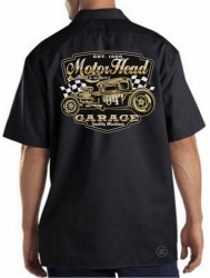 Motor Head Garage Work Shirt