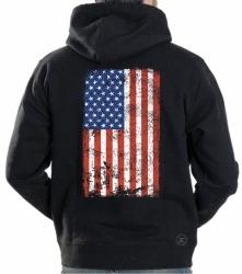 American Flag Hoodie Sweat Shirt