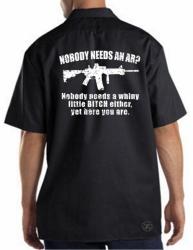 Nobody Needs an AR15? Work Shirt