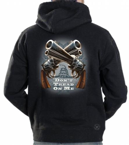 Don't Tread on Me Guns Hoodie Sweat Shirt