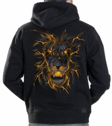 Lion Glow Hoodie Sweat Shirt