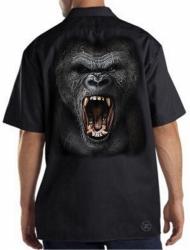Gorilla Roar Work Shirt