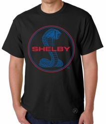Shelby Blue & Red T-Shirt