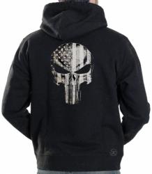American Punisher Flag Hoodie Sweat Shirt