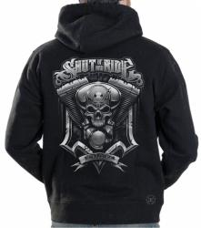 Shut Up & Ride Engine Hoodie Sweat Shirt