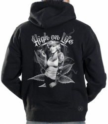 Marilyn High on Life Hoodie Sweat Shirt