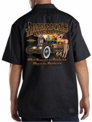 America's Highway Hot Rod Work Shirt