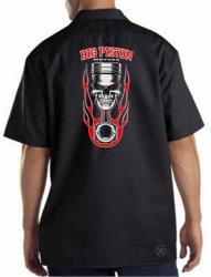 Big Piston Motors Work Shirt