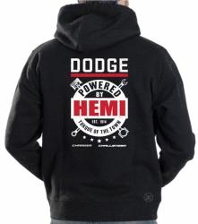 Dodge Powered by Hemi Hoodie Sweat Shirt