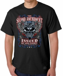 2nd Amendment Issued My Gun Permit T-Shirt