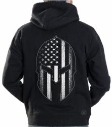 Spartan Helmet Hoodie Sweat Shirt
