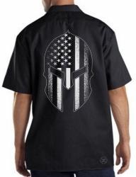 Spartan Helmet Work Shirt