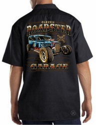 Classic Roadster Garage Work Shirt