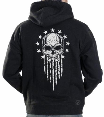 American Patriot Warrior Hoodie Sweat Shirt