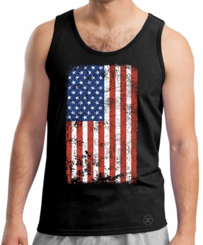 American Flag Tank Top Shirt