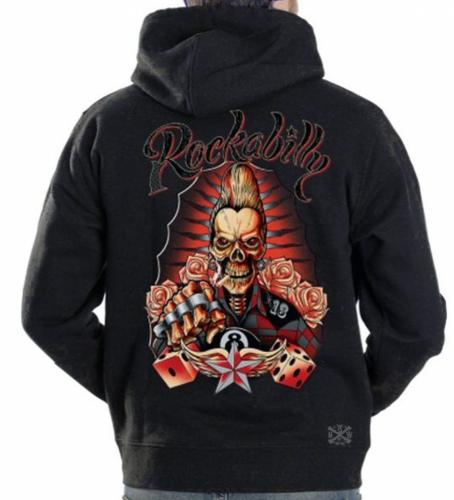Rockabilly Hoodie Sweat Shirt