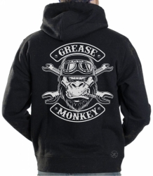 Grease Monkey Hoodie Sweat Shirt