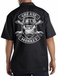 Grease Monkey Work Shirt