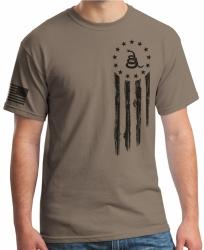 American Flag Don't Tread on Me T-Shirt