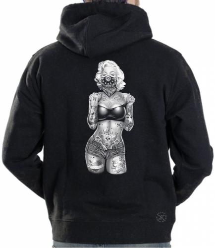 Marilyn Tube Top Hoodie Sweat Shirt