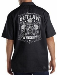 Outlaw Whiskey Work Shirt