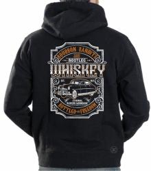 Bourbon Bandits Bootleg Whiskey Hoodie Sweat Shirt