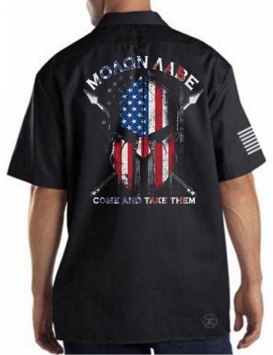 American Spartan Warrior Work Shirt