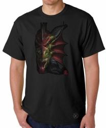 Lair of Shadows Dragon T-Shirt