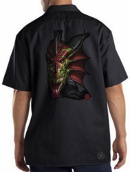 Lair of Shadows Dragon Work Shirt