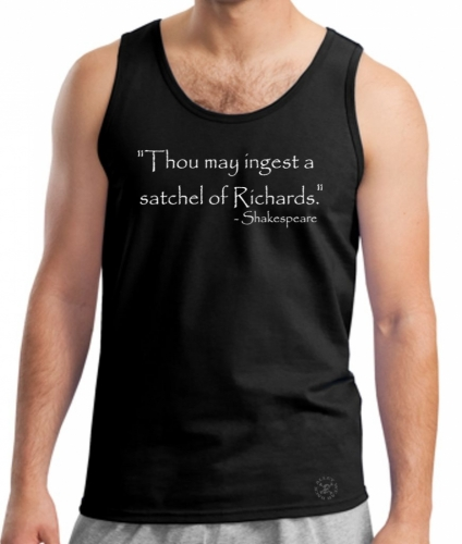Ingest a Satchel of Richards Tank Top Shirt