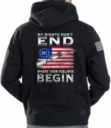 My Rights Don't End Where Your Feelings Begin Hoodie Sweat Shirt