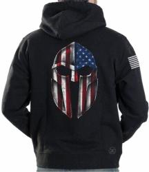 American Gladiator Hoodie Sweat Shirt