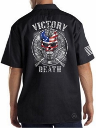 Victory or Death Work Shirt
