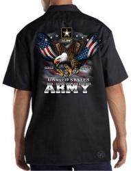 US Army Freedom Eagle Work Shirt