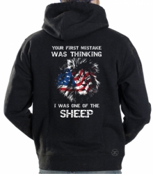 First Mistake Thinking I Was a Sheep Hoodie Sweat Shirt