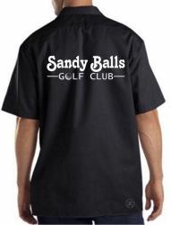 Sandy Balls Golf Club Work Shirt
