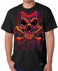 Melting Crossbones T-Shirt