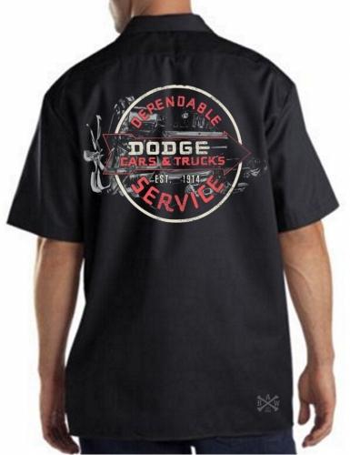 Vintage Dodge Sign Work Shirt