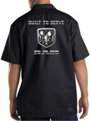 Guts Glory Ram Work Shirt