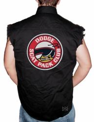Scat Pack Club Sleeveless Denim Shirt