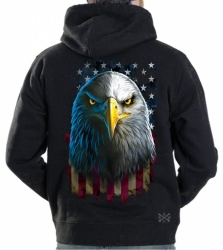 American Eagle Stare Hoodie Sweat Shirt
