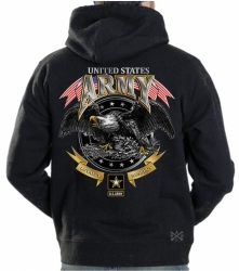 US Army Loyalty Respect Hoodie Sweat Shirt