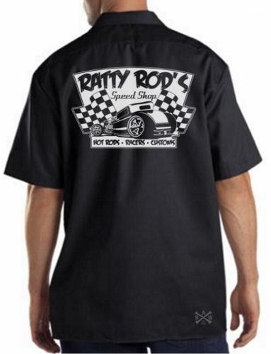 Ratty Rod's Speed Shop Work Shirt