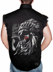 Chief Warpaint Sleeveless Denim Shirt