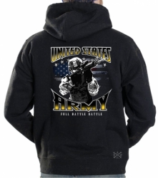 Army Full Battle Rattle Hoodie Sweat Shirt