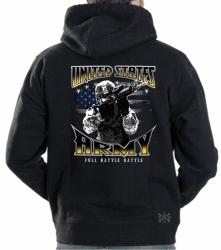 Army Full Battle Rattle Hoodie Sweat Shirt