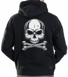 Skull & Crossbones Hoodie Sweat Shirt
