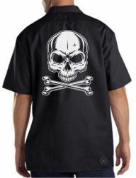 Skull & Crossbones Work Shirt
