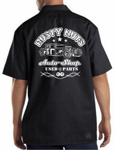 Rusty Nuts Work Shirt