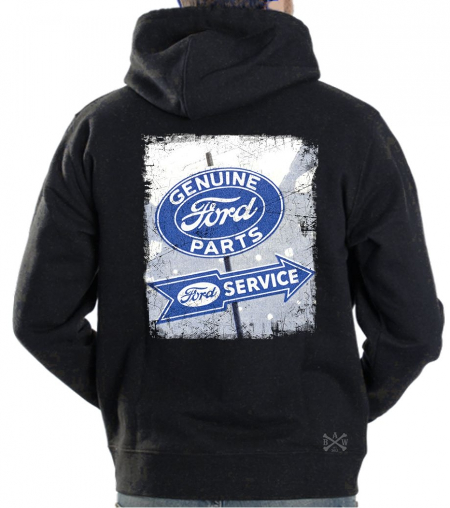 Genuine ford parts sign hoodie sweat shirt